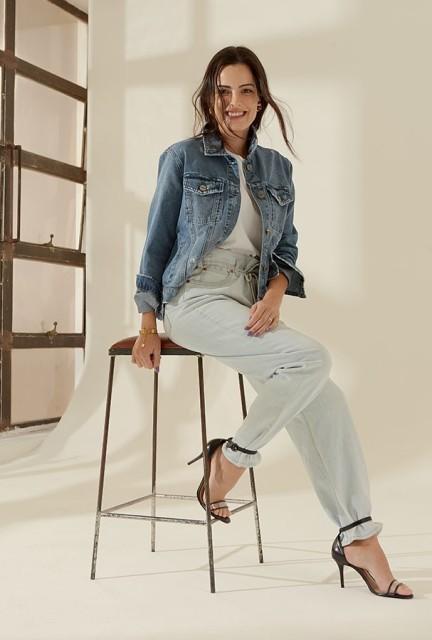 9fabdbcfa9 Novas tendências do tradicional jeans e camiseta