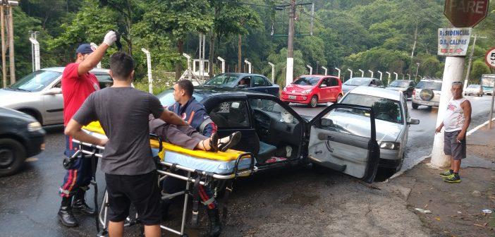 Acidente deixa uma pessoa ferida em Barra Mansa