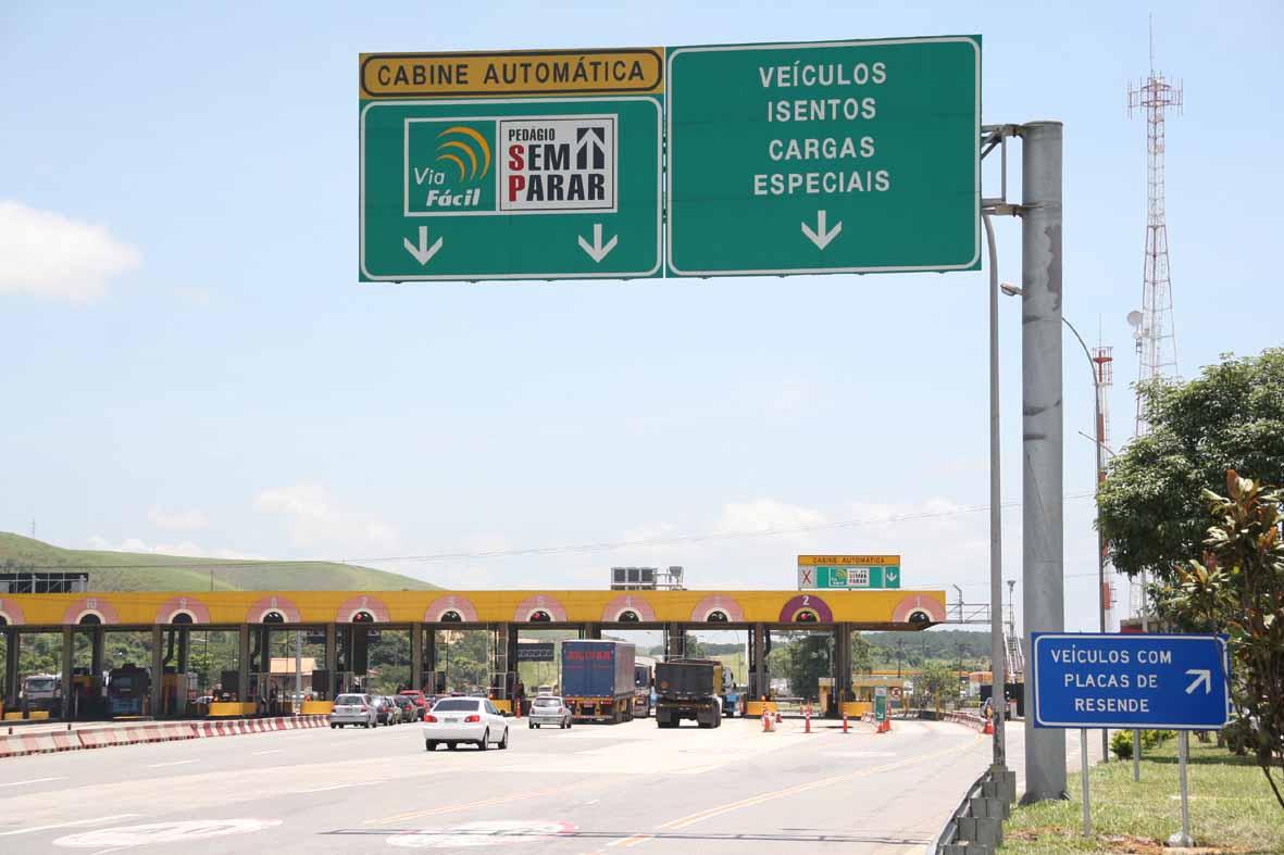 4c583ca18 Placa Mercosul não inviabiliza isenção de pedágio para veículos de Resende,  na Praça de Itatiaia