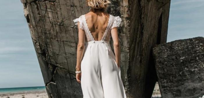 972fb1d8a Noivas apostam em calças e macacões para casamentos