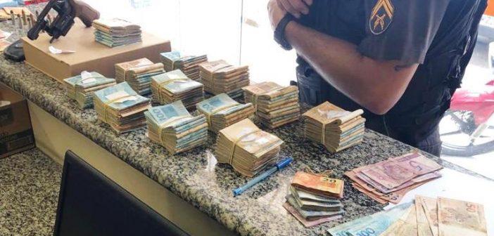 PM apreende mais de R$ 118 mil referente ao jogo do bicho, em Mendes