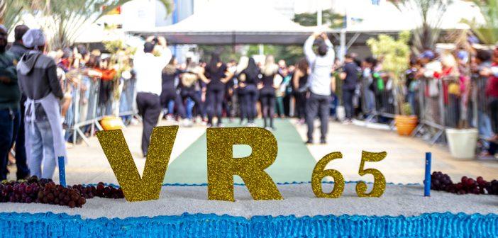 Volta Redonda celebra 65 anos com festa e bolo de aniversário